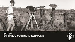 Kangaroo Cooking at Kunapural